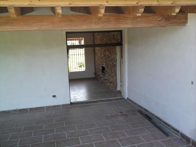 Casa de campo villa jardin ii for Modelos de techos para galerias
