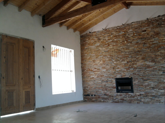 Casa de campo villa jardin ii - Puertas de piso a techo ...